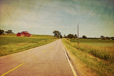 Vintage Design - Road photo