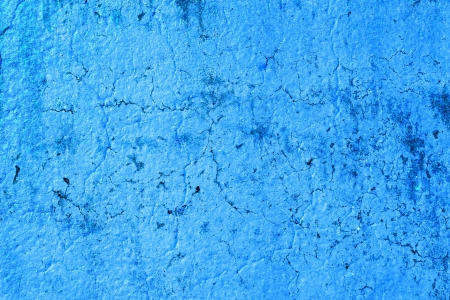 solid blue background: Interior Design - Old Wall