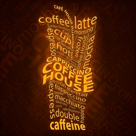 Coffee Background Imagens