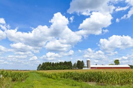 American Farm Stock Photo - 14886386