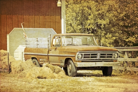 Old Pickup Truck photo
