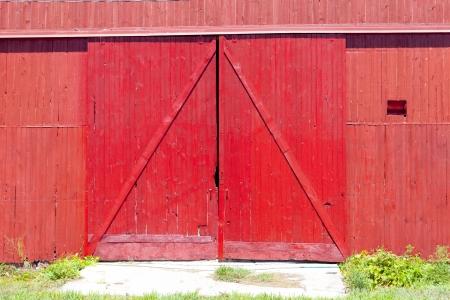 Barn deur