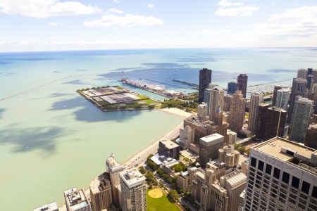 Aerial View (Chicago Downtown) photo