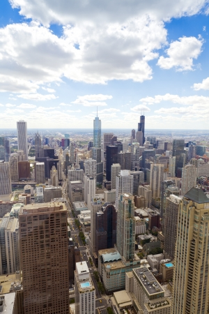 Aerial View (Chicago Downtown)  Stock Photo - 16126235