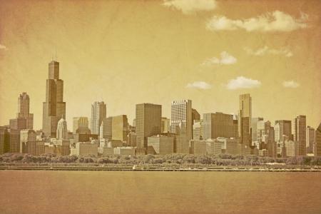 Vintage Chicago Stock Photo - 16126249