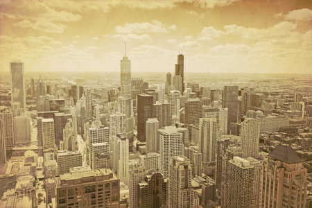 古いシカゴ