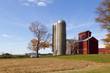 Traditional American Barn (Autumn Season) Stock Photo - 15949479