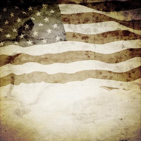 veterans: Retrop Poster Design Stock Photo