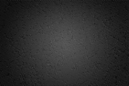 black textured background: Hexagon Metal Background  Stock Photo