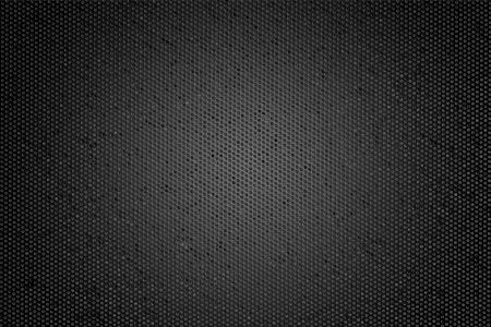 black hole: Hexagon Metal Background  Stock Photo
