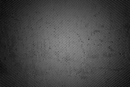 shiny black: Hexagon Metal Background  Stock Photo
