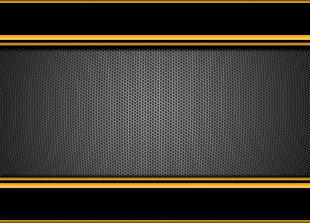 speaker grill: Hexagon Metal Background  Stock Photo