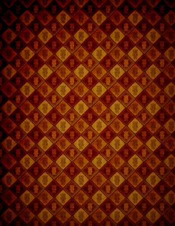 Coffee Design (Vintage Pattern Page) photo