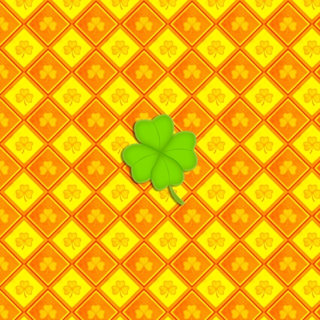 Shamrock Paper (Vintage Pattern Page) Stock Photo - 17242714