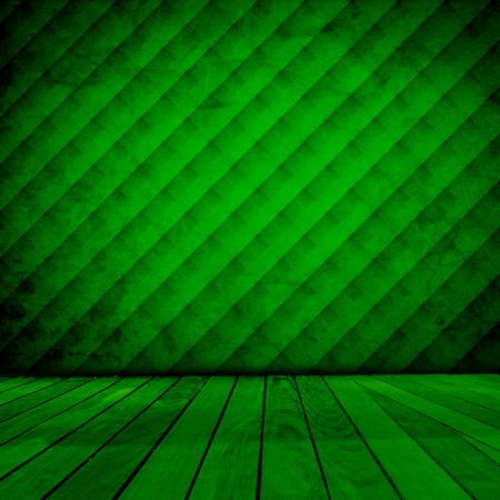 Room With Retro Color Wallpaper Stock Photo - 17429487