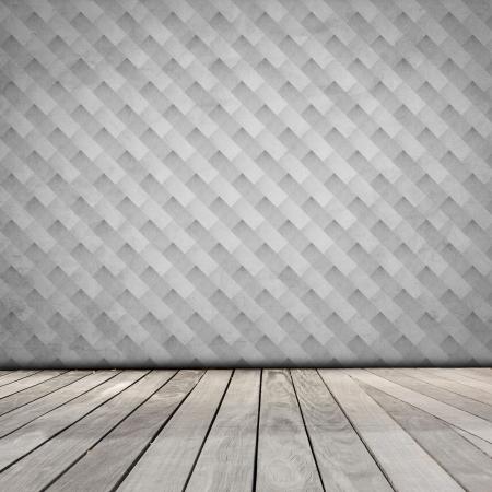 Room With Retro Color Wallpaper Stock Photo - 17429444