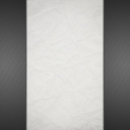 Hexagon Metal Background Stock Photo - 17429362