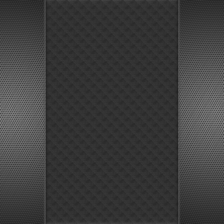 Hexagon Metal Background Stock Photo - 17429395