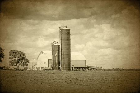 American Countryside - Vintage Design Stock Photo - 17473062