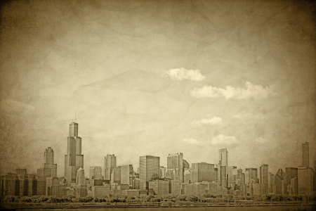 Old Chicago - Vintage Design  photo
