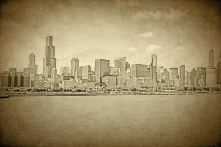 古いシカゴ - ビンテージ デザイン