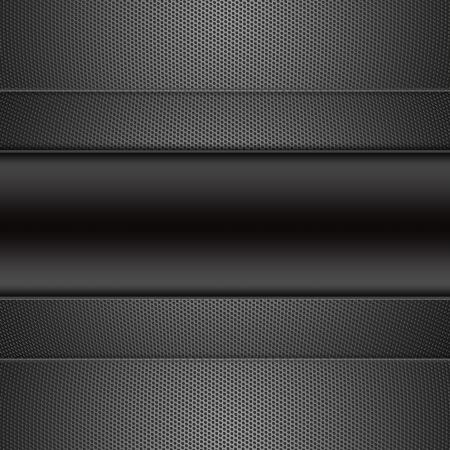 Hexagon Metal Background  Stock Photo