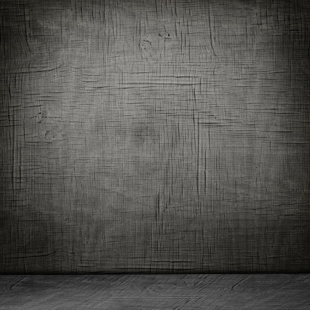 Creative Abstract Room Design With Vintage Grunge Wooden Interior Stock Photo - 18769831