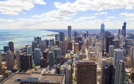 Aerial View (Chicago Downtown) Stock Photo - 18770515