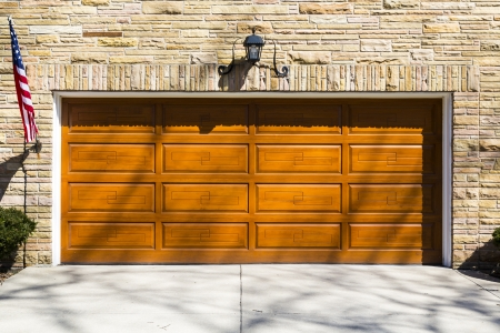 garage door: Garage Door Stock Photo