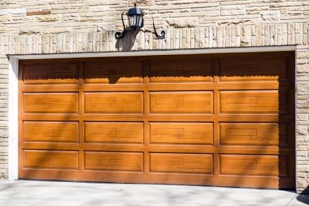 Garage Door Reklamní fotografie