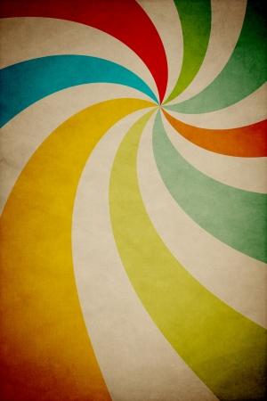Retro Poster Ad Concept Design Stockfoto