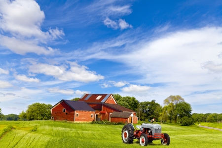 village house: American Countryside