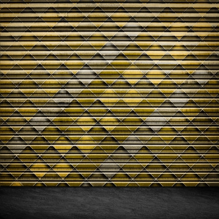 Retro Grunge Wallpaper Pattern  photo
