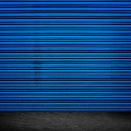 Grunge Garage Door Design photo