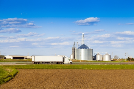 cloud industry: Agriculture Stock Photo