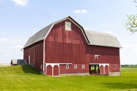 Red Farm 写真素材