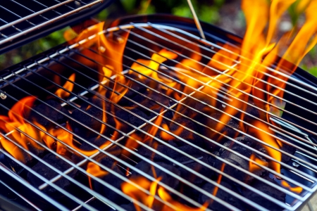 charcoal grill: House Grill With Big Flame