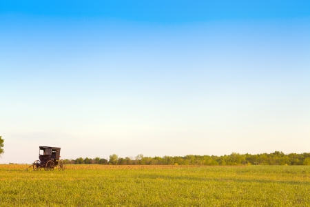 amish: Amish Country Stock Photo