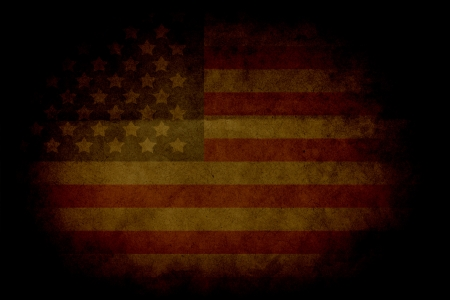 Retro Grunge America Four July Wallpaper Pattern  photo