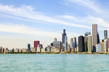 Chicago Downtown Skyline photo