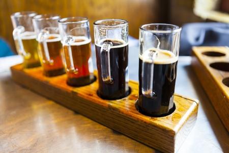 pilsner beer glass: Beer Flight
