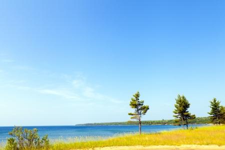 Upper Peninsula Beach - Michigan, USA  photo