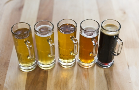 Beer Flight Stock Photo - 21205060