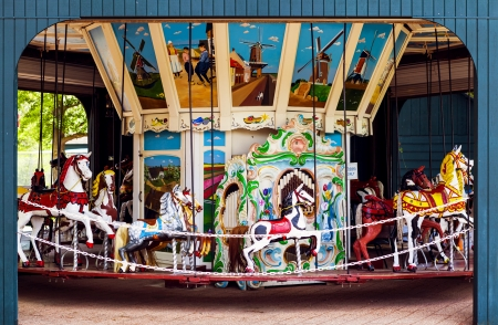 Retro Carousel photo