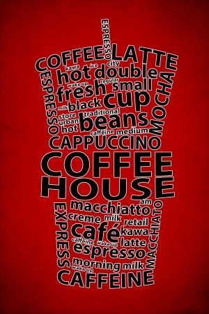 Retro Coffee Ad Background photo