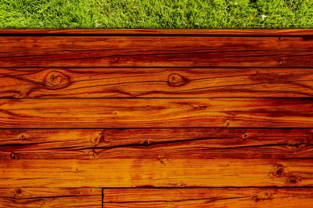Top View On Wooden Table