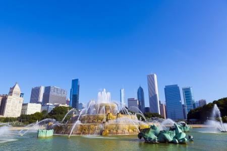 emigranti: Park di Chicago
