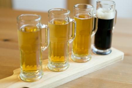 Beer Flight  Stock Photo - 21706814