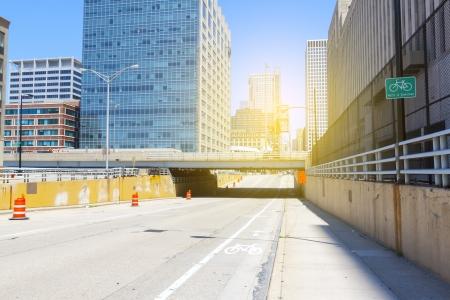 road bike: Chicago Streets