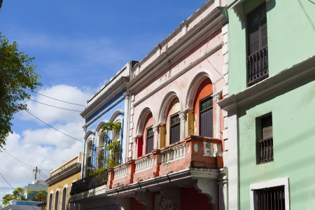 Architecture in San Juan Old City